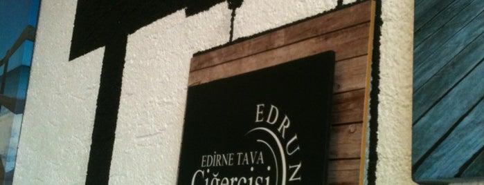 Edrune Edirne Tava Cigercisi is one of Yeme içme.