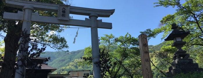八幡神社 is one of 201405_中山道.