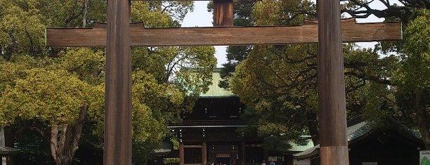 Meiji Jingu Shrine is one of Tokyo City Guide.