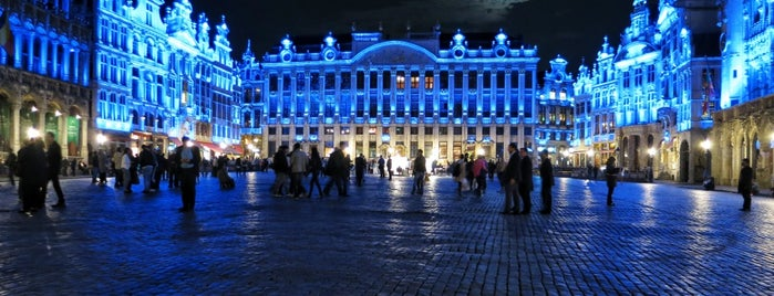 Grand Place is one of My Bruxelles's best spots.