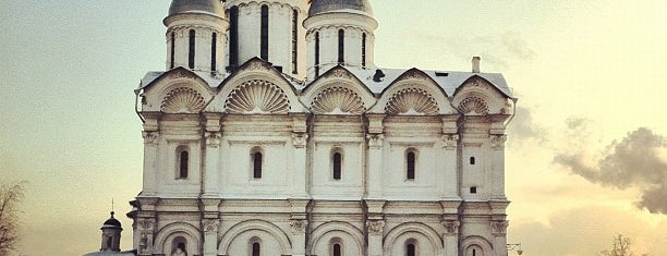 Cathedral of the Archangel is one of Moscow monasteries  and  churches..
