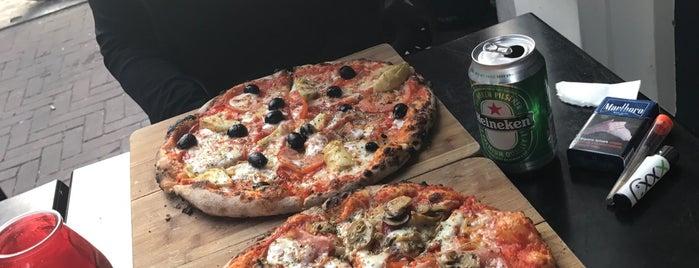 Pizza indische buurt amsterdam