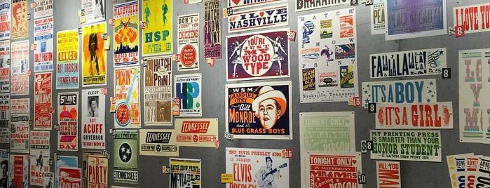Hatch Show Print is one of A Weekend Away in Nashville.