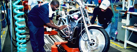 Harley-Davidson Vehicle Operations is one of Pennsylvania's Automotive History.