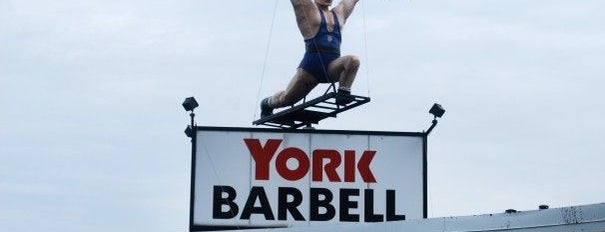 York Barbell Retail Outlet Store & Weightlifting Hall of Fame is one of Fan-Friendly PA.