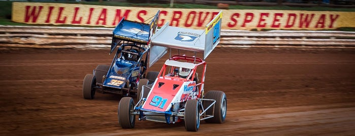 Williams Grove Speedway is one of Fan-Friendly PA.
