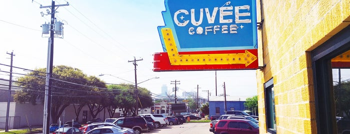 Cuvée Coffee is one of Austin 2018 Itinerary.