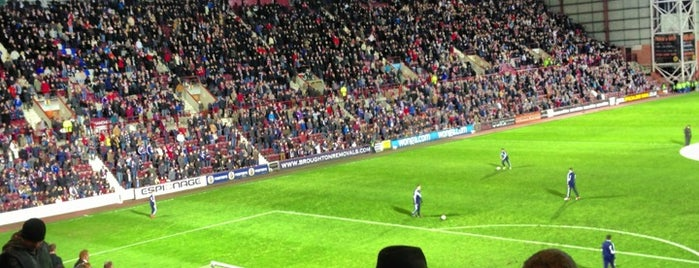 Tynecastle Park is one of Venues....