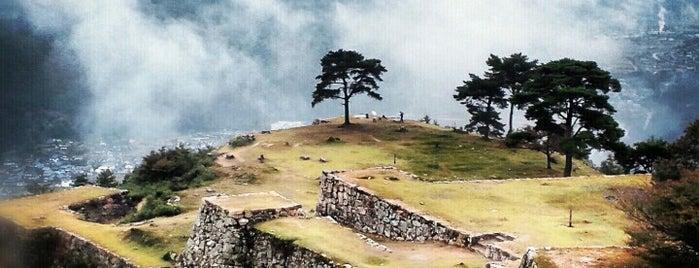 Takeda Castle Ruins is one of 行ってみたい(≧∇≦).