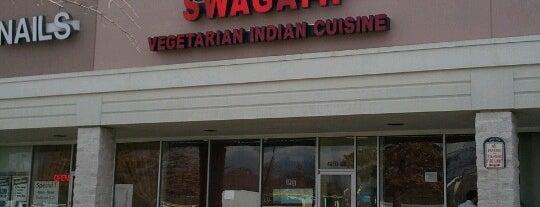Swagath Vegetarian Indian Cuisine is one of Virigina.