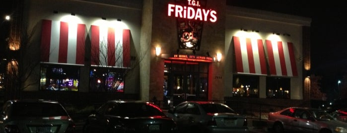 TGI Fridays is one of Hometown Hot Spots.