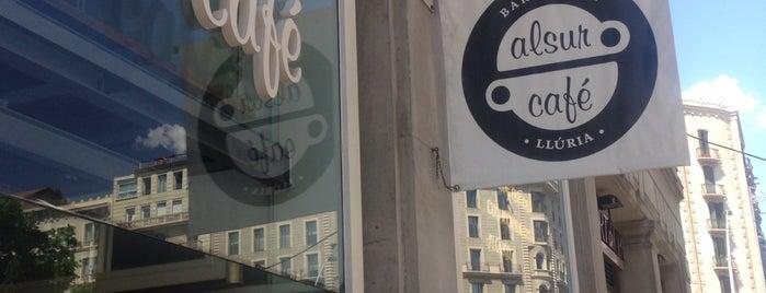 Alsur Café (Llúria) is one of M&M Barcelona centre.