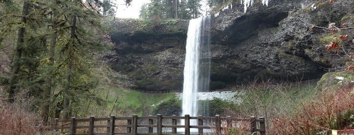 Silver Falls State Park is one of Oregon.