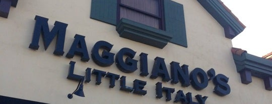 Maggiano's Little Italy is one of Dan's Places.