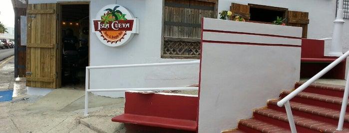 Isla Cueva is one of Puerto Rico Restaurants.
