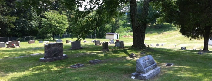 Milton Cemetary is one of Wild and Wonderful West Virginia.
