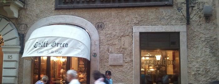 Antico Caffè Greco is one of Unsere TOP Empfehlungen für Rom.
