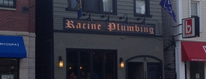 Racine Plumbing is one of Places to watch a game.