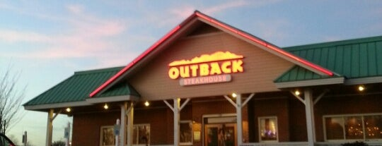 Outback Steakhouse is one of Great Places.