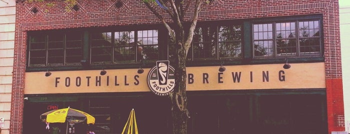 Foothills Brewing is one of Craft Beer & Breweries.