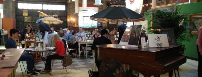 Soho South Café is one of Savannah.