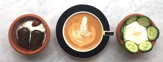 Greecologies is one of 25 Top Coffee Shops in NYC.