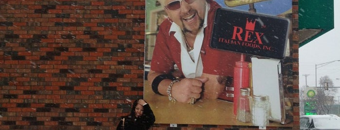 Rex Italian Foods is one of Diners, Drive-ins & Dives.