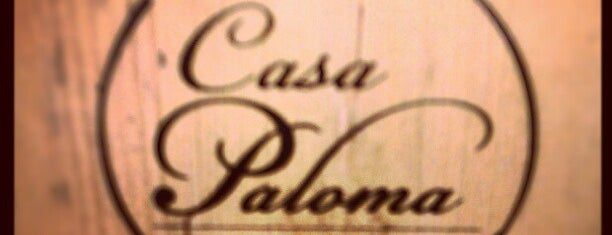 Casa Paloma is one of comer.