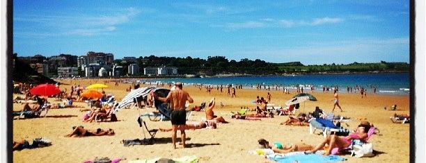 Playas del Sardinero is one of Guía de Cantabria.