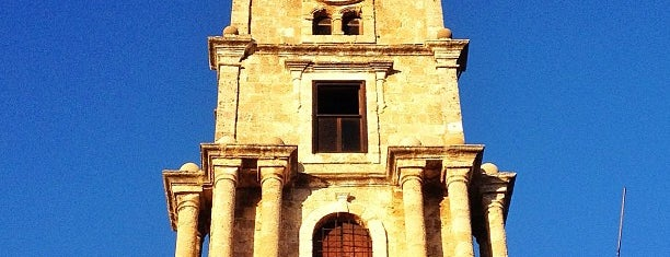 Clock Tower is one of Explore Rhodes.