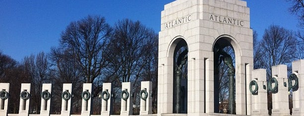 World War II Memorial is one of DMV Landmarks.