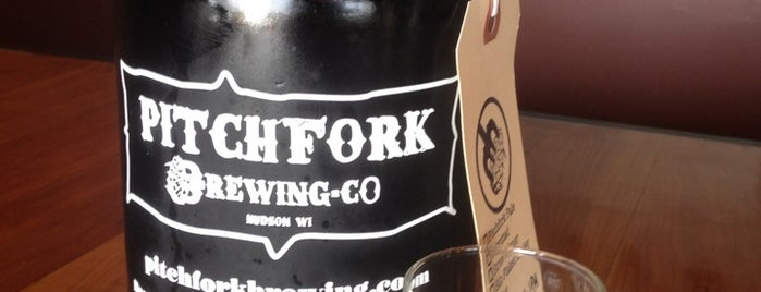 Pitchfork Brewery is one of Minneapolis-St. Paul Tap Room Directory.