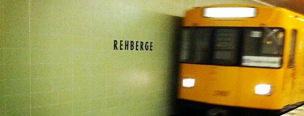 U Rehberge is one of U-Bahn Berlin.