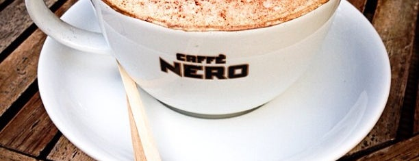 Caffé Nero is one of Istanbul 💛.