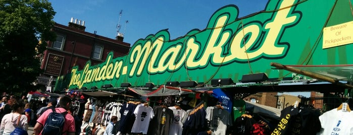 Camden Market is one of London Calling: LDN To Do.