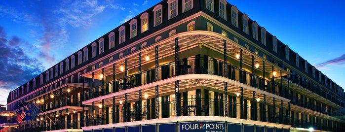 Four Points By Sheraton French Quarter Is One Of The 15 Best Places With Balcony In