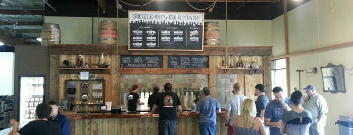 Societe Brewing Company is one of San Diego.