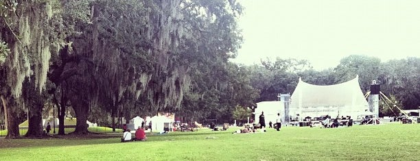 Forsyth Park is one of The Great Outdoors.