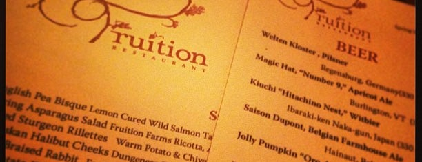 Fruition Restaurant is one of Denver Cheesecation.