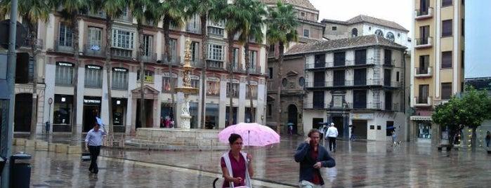 Centro Histórico de Málaga is one of Sitios frecuentes.