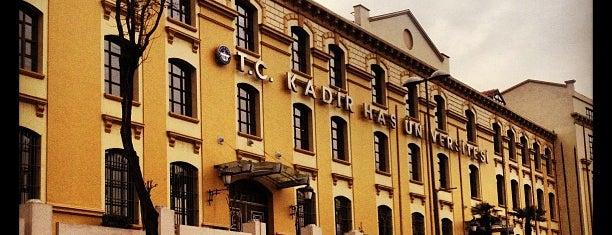 Kadir Has Üniversitesi is one of İstanbul'da En Çok Check-in Yapılan Mekanlar.