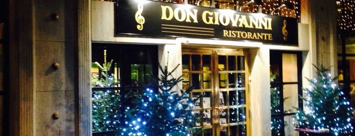 Don Giovanni is one of Restaurantes.