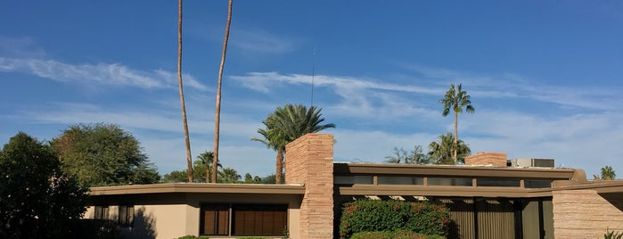 Twin Palms, Frank Sinatra House is one of Psalm Sprangs.