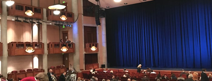 Newman Center for the Performing Arts at DU is one of Colorado.