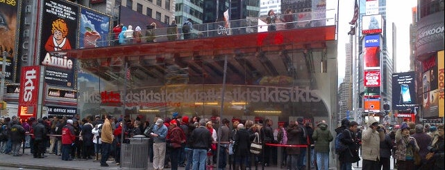TKTS is one of 2012 - New York.