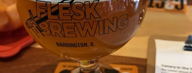 Flesk Brewing Co. is one of 2013 Chicago Craft Beer Week venues.