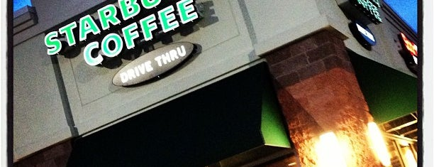 Starbucks is one of Frequent Stops.