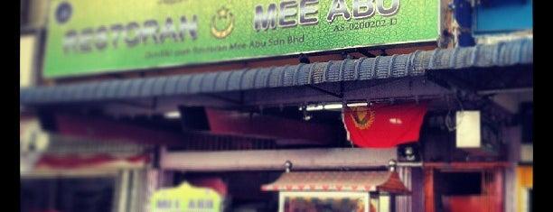 Restoran Mee Abu is one of Best food porn in Alor Setar.
