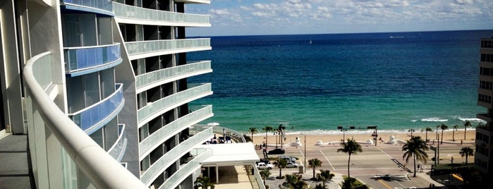 W Fort Lauderdale is one of Hotels and Resorts.