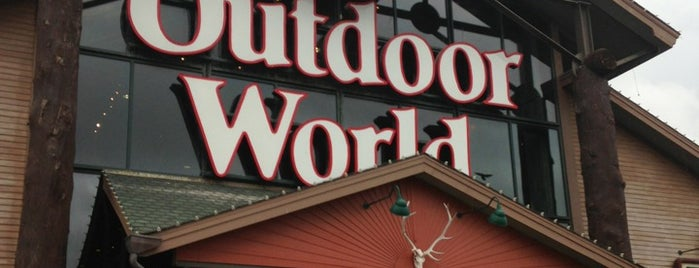 Bass Pro Shops is one of OKC.
